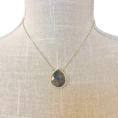 Makenna Gray Stone Necklace