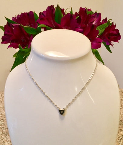 Swarovski Mini Triangle Delicate Necklaces
