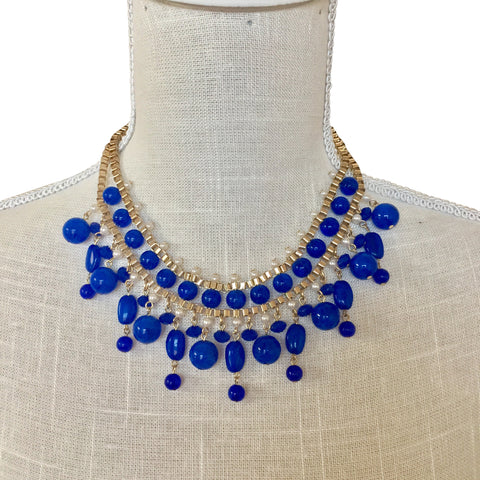 Ava Cobalt Blue Necklace
