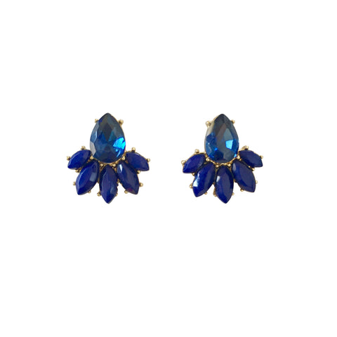Delaney Blue Earrings