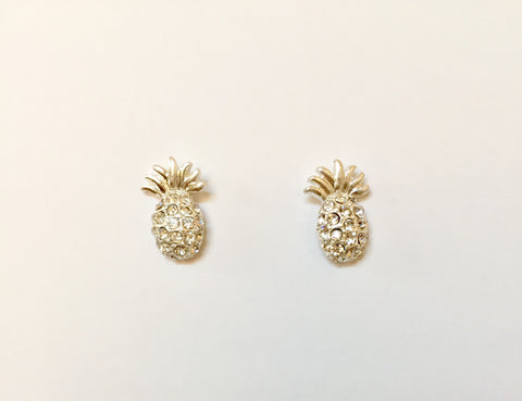 Brielle Pineapple Delicate Studs
