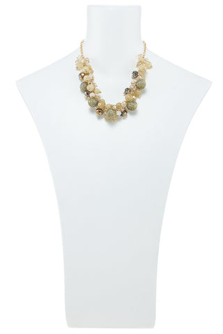 Tawny Brown Necklace Set