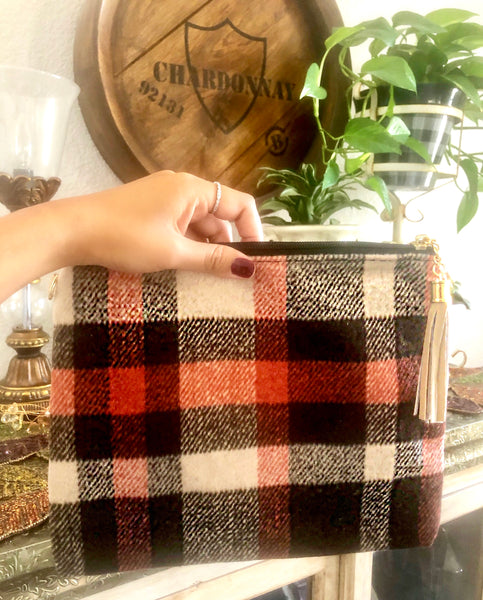 Brownie Autumn Vibes Plaid Bag