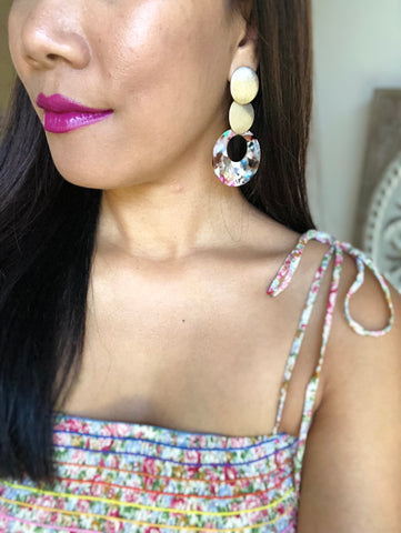 Rumi Fiesta Resin Earrings