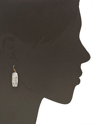 Ellie Simple Stone Earrings