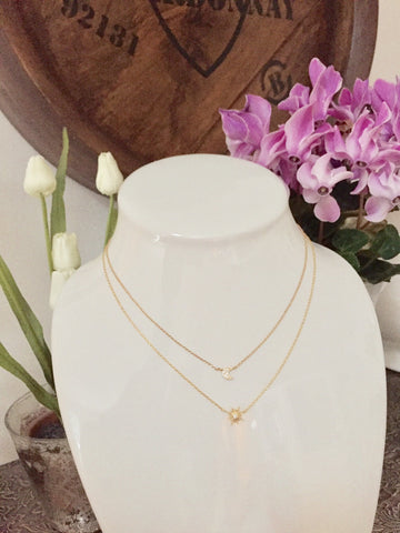 Sol Gold Necklace