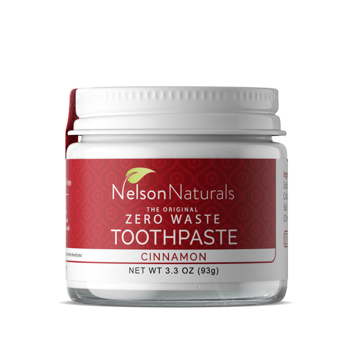 Cinnamon 3.3oz Toothpaste - nelsonnaturals remineralizing toothpaste