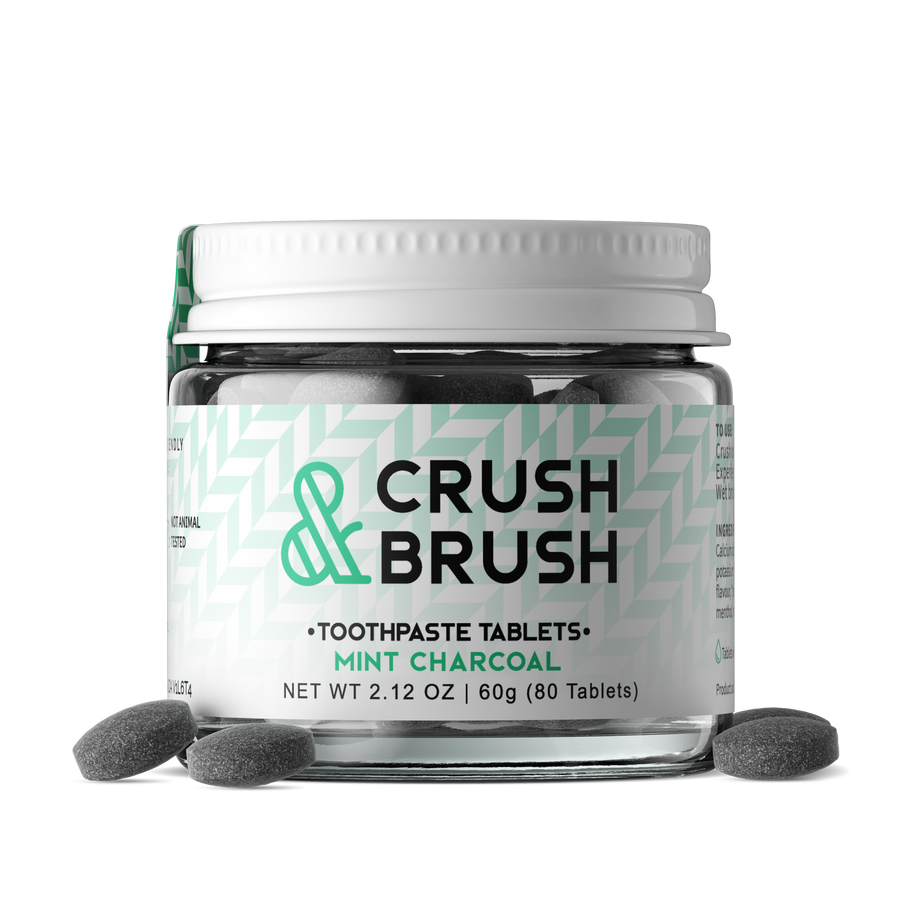 CRUSH & BRUSH CASE OF 12  - nelsonnaturals remineralizing toothpaste