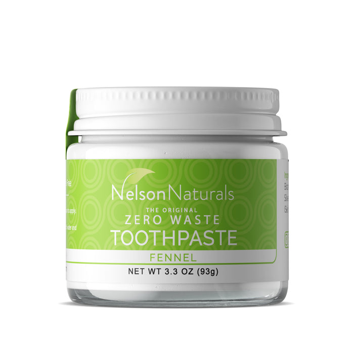Fennel 3.3oz Toothpaste - nelsonnaturals remineralizing toothpaste