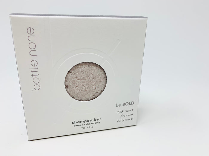 be BOLD Shampoo Bar 70-75g