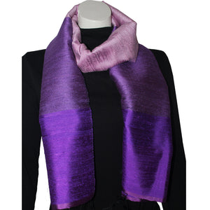 Silk Luxury Scarf violet