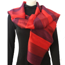 Silk Luxury Scarf red