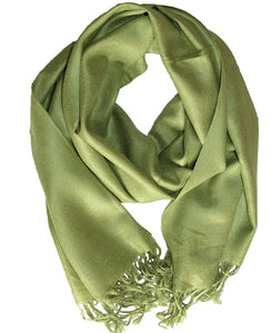Cashmere Scarf Classic Green
