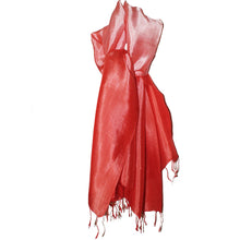 Silk Scarf Erewan red