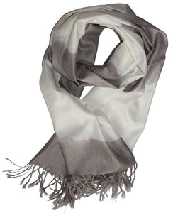 Cashmere Scarf Classic Gray G2