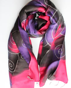 Silk Luxury Scarf multicolor 5
