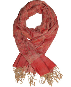 Cashmere Scarf Classic Orange