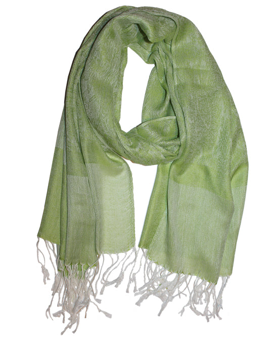 Cashmere Scarf Classic Green 3