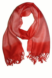Cashmere Scarf Classic Red G