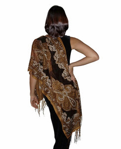 Ladies Scarf Noblesa Brown