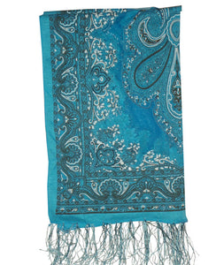 Ladies Scarf Noblesa Blue
