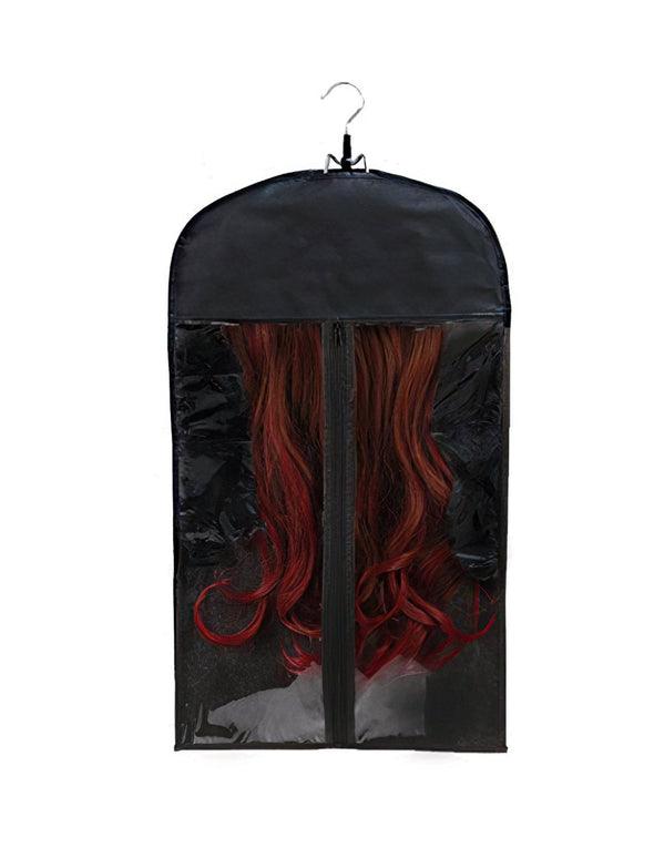 wig stand and packing bag for travel