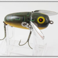 Heddon Bullfrog Crazy Crawler In Box