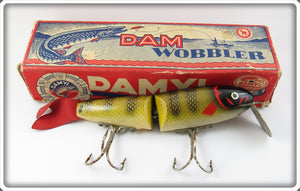 Vintage Dam Damyl Jointed Wobbler Lure In Box 1655/14 A