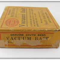South Bend Vacuum Bait Empty Box
