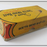 South Bend Red & White Better Bass Oreno In Correct Box 73 RW