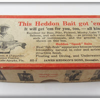 Heddon Empty Box For Shad 740 SHA Punkin-Seed