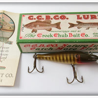 Vintage Creek Chub Baby Pikie Lure In Correct Box 900