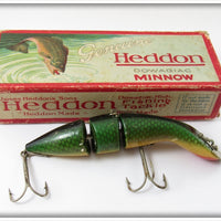 Heddon Green Scale Gamefisher In Correct Box 5509D