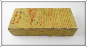 Vintage Fred Arbogast Empty Box For Hawaiian Wiggler Lure