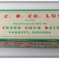 Creek Chub Empty Box For Natural Mullet Scale Tarpon Pikie Lure 4007