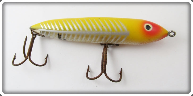 Vintage Heddon Yellow Shore Early Zara Spook Lure