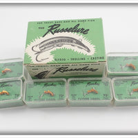 Russelure Dealer Box Of Six Lures: Orange Model 1/2