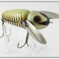 Heddon Silver Shore With Silver Chin Crazy Crawler