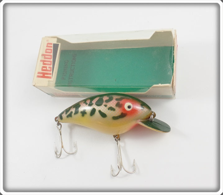 Heddon 14 Karat Coachdog Big Hedd In Box Marked 14KCD