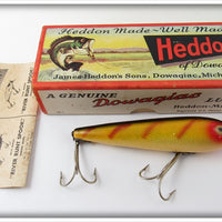 Vintage Heddon Perch Zaragossa Lure In Correct Box 6500L
