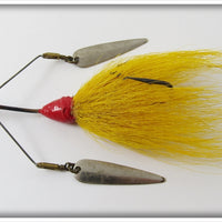 W. J. Jamison Yellow Bucktail Shannon Persuader In Correct Box