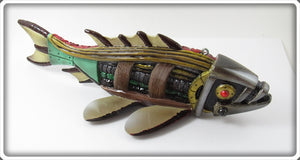 Melosh One Of A Kind Steampunk Industrial Fish Decoy