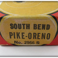 South Bend Silver Speckled Baby Jointed Pike Oreno In Correct Box