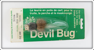 Vintage Eppinger Mfg Co Devil Bug Lure On Card