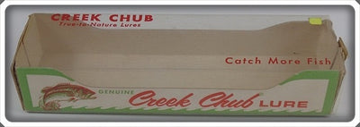 Creek Chub Bait Co Empty Box For Flo Red Darter Lure 2021