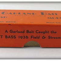 Garland Bros Empty Box For Cork Head