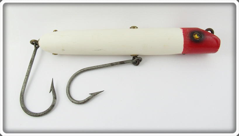 Vintage South Bend Red Head White Tarp Oreno Lure 979 RH
