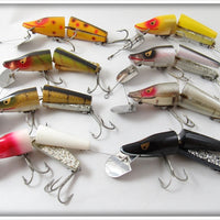 Heddon Scissor Tail Complete Set Of Eight