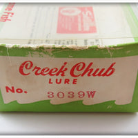 Creek Chub Tiger Stripe Jointed Husky Pikie In Correct Box