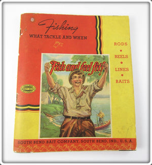 1939 South Bend Fishing What Tackle & When Catalog